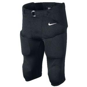 Nike Black Youth Football Pads Size Large